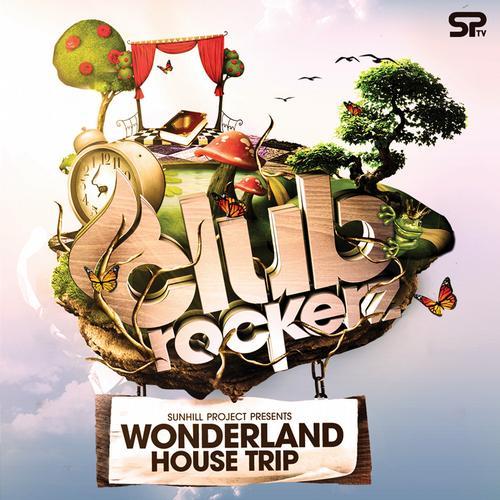 Album Art - Clubrockerz - Wonderland House Trip