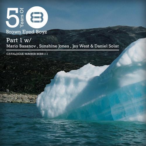 Album Art - 5 Years of Brown Eyed Boyz (Pt. 1)