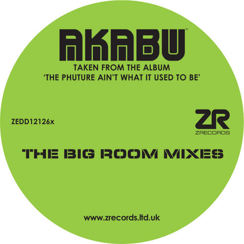 Album Art - Joey Negro Presents Akabu - The Big Room Mixes (Thomas Gold And Ron May)