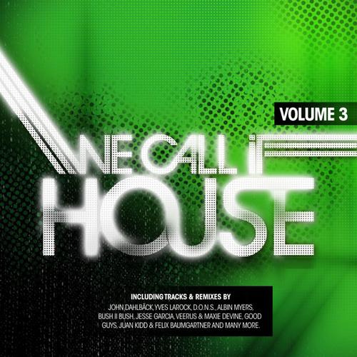 Album Art - We Call It House Volume 3