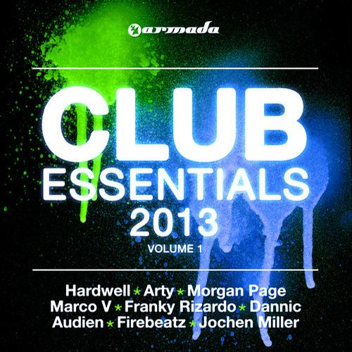 Album Art - Club Essentials 2013, Vol. 1 - 40 Club Hits In The Mix