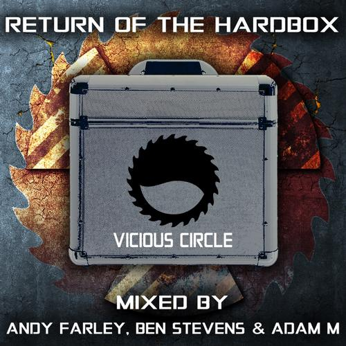 Album Art - Return Of The Hardbox - Mixed by Andy Farley, Ben Stevens & Adam M