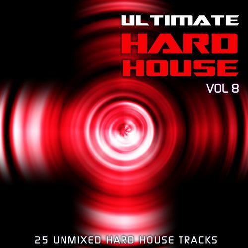 Album Art - Ultimate Hard House Vol 8