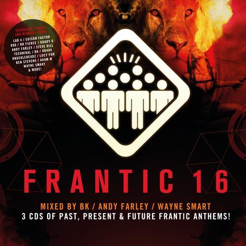 Album Art - Frantic 16 (Mixed by BK, Andy Farley, Wayne Smart)