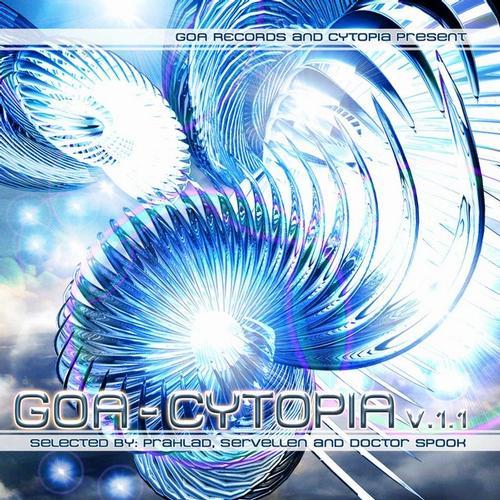 Album Art - Goa-Cytopia V.1V/a By Prahlad, Servellen And Dr. Spook
