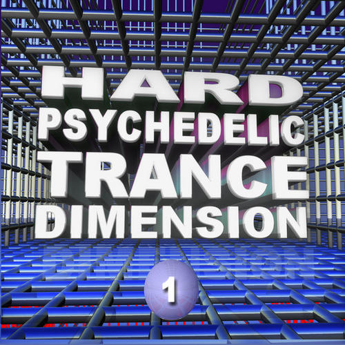Album Art - Hard Psychedelic Trance Dimension V1