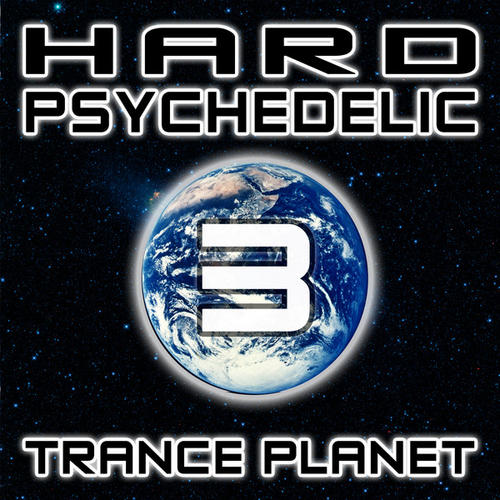 Album Art - Hard Psychedelic Trance Planet V3