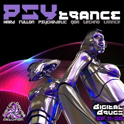 Album Art - Digital Drugs Coalition Psy Trance Hard Fullon Psychedelic Goa Techno EP's 11-20