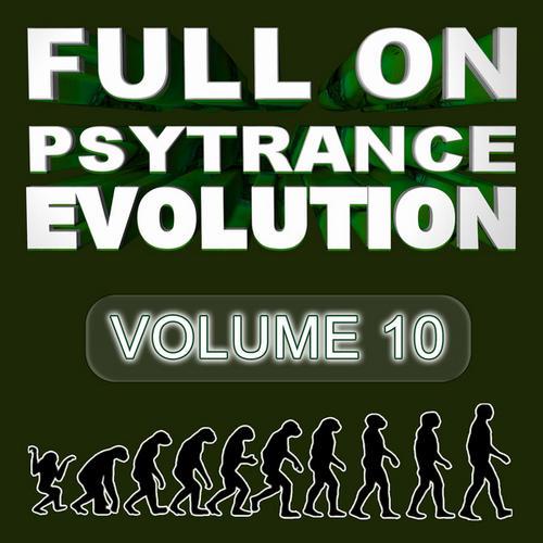 Album Art - Full On Psytrance Evolution V10
