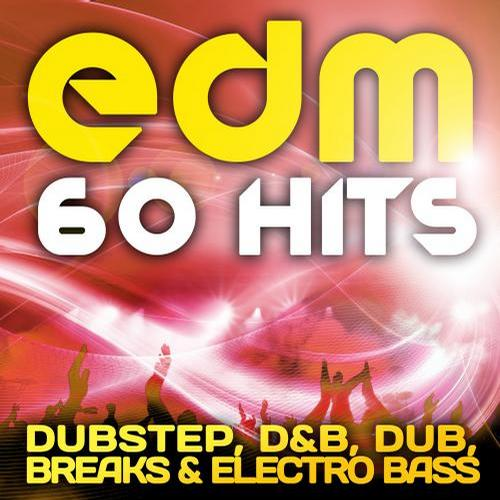 Album Art - EDM Dubstep, D&B, Dub, Breaks & Electro Bass (60 Top Hits)