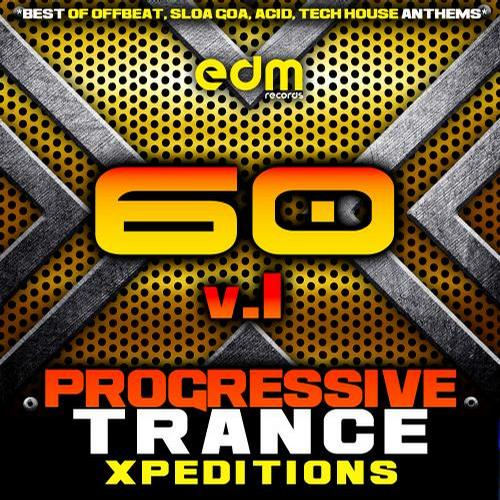 Album Art - Progressive Trance Xpeditions, Vol. 1 (60 Best of Offbeat, Sloa Goa, Acid, Tech House Anthems)