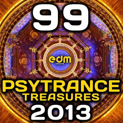 Album Art - Psy Trance Treasures 2013 (99 Best of Full-on, Progressive & Psychedelic Goa Hits)