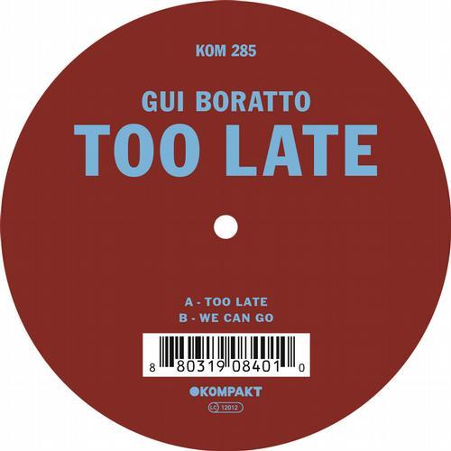 Album Art - Too Late