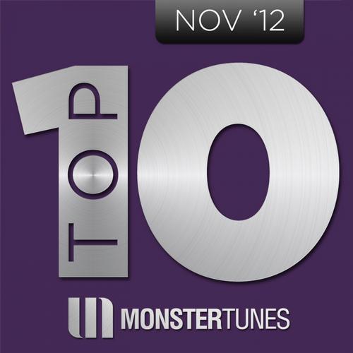 Album Art - Monster Tunes Top 10 - November 2012
