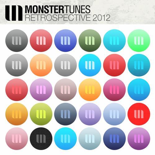 Album Art - Monster Tunes - Retrospective 2012