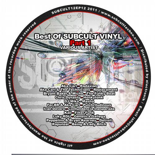 Album Art - Best of Sub Cult Vinyl Part 1