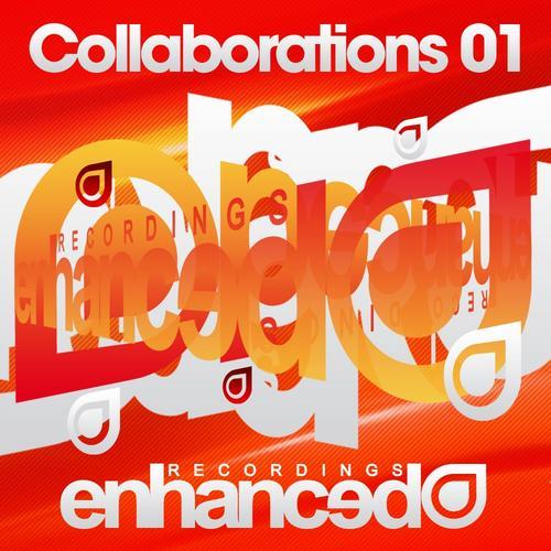 Album Art - Enhanced Recordings: Collaborations 01