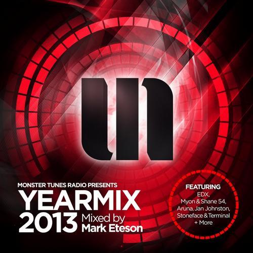 Album Art - Monster Tunes Yearmix 2013 (Mixed by Mark Eteson)