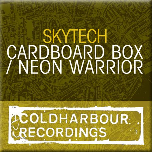 Album Art - Cardboard Box / Neon Warrior