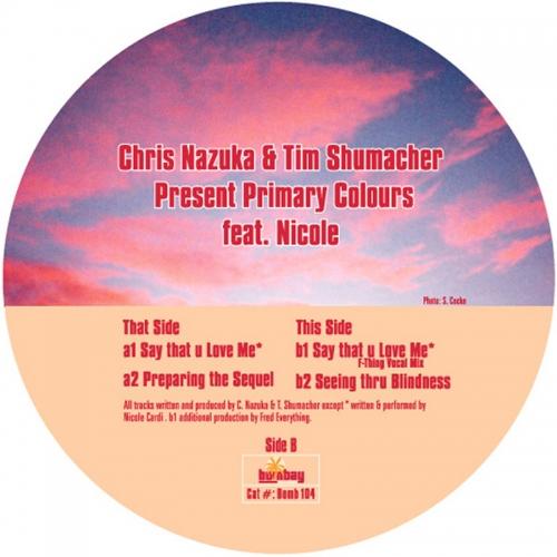 Album Art - Primary Colors