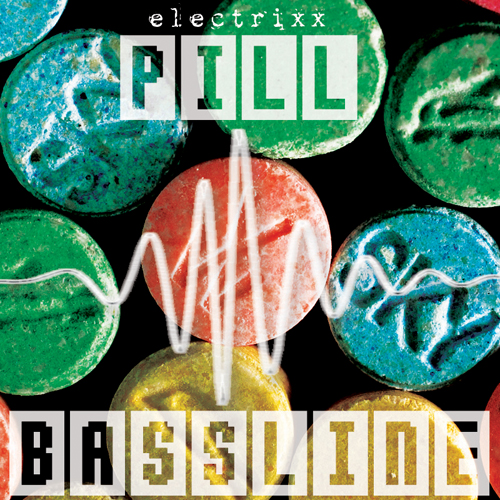 Pill Bassline EP Album Art