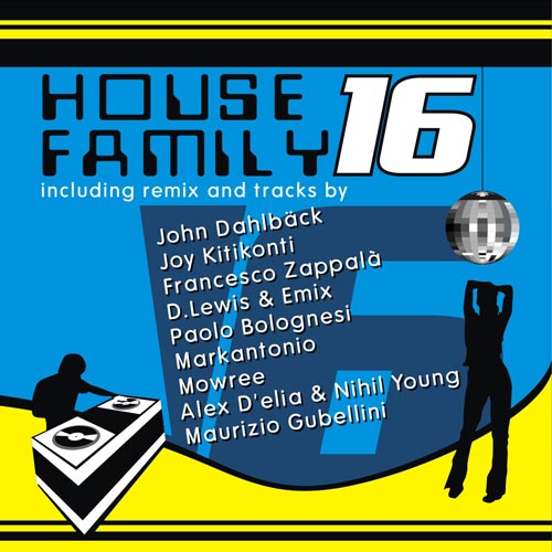 Album Art - House Family Volume 16