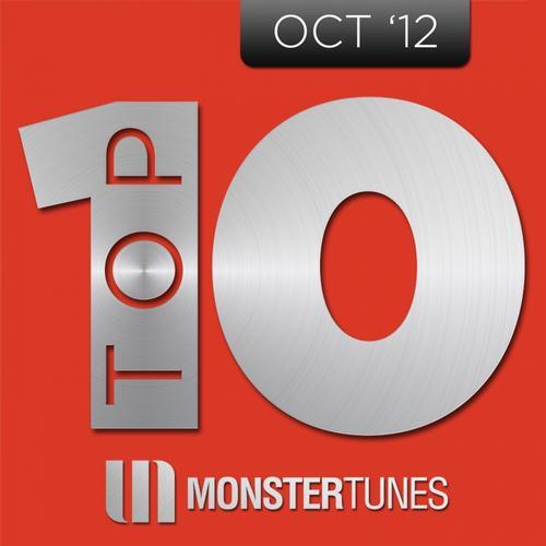 Album Art - Monster Tunes Top 10 - October 2012