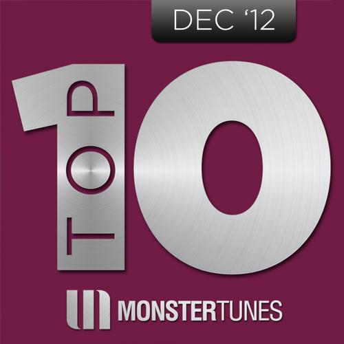 Album Art - Monster Tunes Top 10 - December 2012