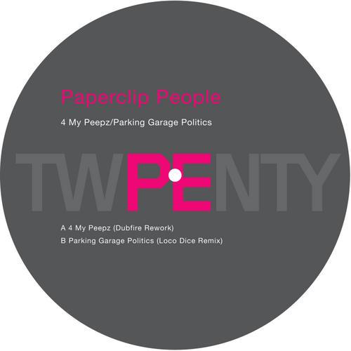Album Art - 4 My Peepz / Parking Garage Politics