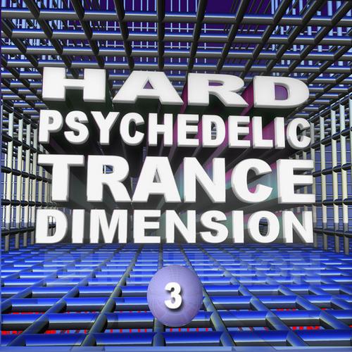 Album Art - Hard Psychedelic Trance Dimension V3