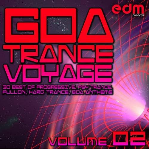 Album Art - Goa Trance Voyage v.2 - Masters of Progressive, Psychedelic & Hard Acid Trance