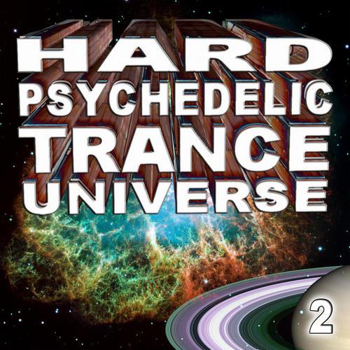 Album Art - Hard Psychedelic Trance Universe V2