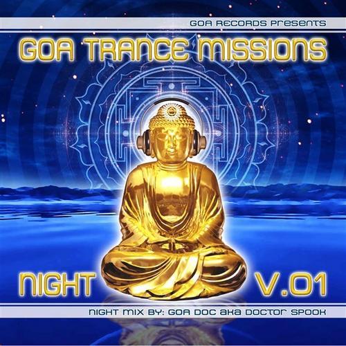 Album Art - Goa Trance Missions Volume 1 Night