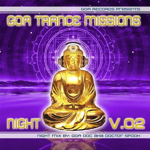 Album Art - Goa Trance Missions Volume 2 Night