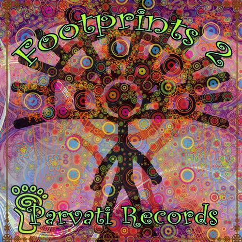 Parvati Records Footprints 2 Album Art