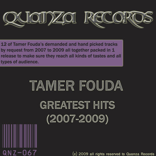 Album Art - Tamer Fouda Greatest Hits (2007-2009)