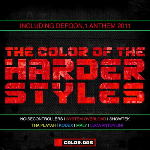 Album Art - The Color Of The Harder Styles - Part 5
