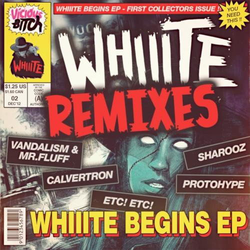 Album Art - Whiiite Begins EP [REMIXES]