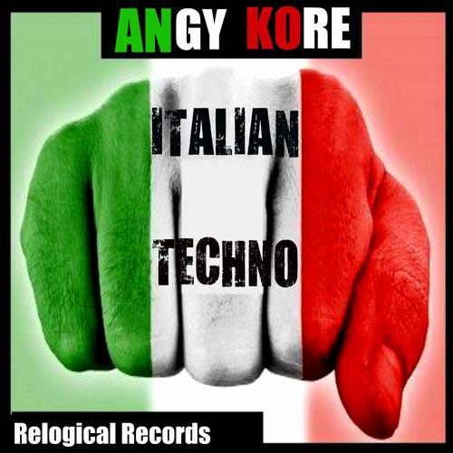 Album Art - Italian Techno (Around The World Friends Remixes)