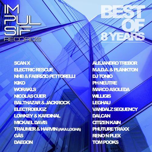 Album Art - Impulsif Records: Best of 8 Years