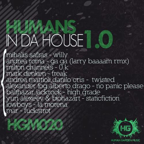 Album Art - Humans In Da House 1.0