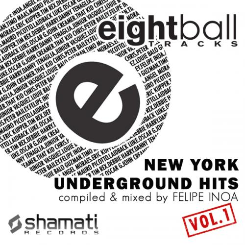 Eightball Tracks: New York Underground Hits Vol. 1 Album Art