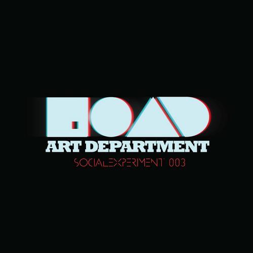 Album Art - Social Experiment 003 - Mixed By Art Department