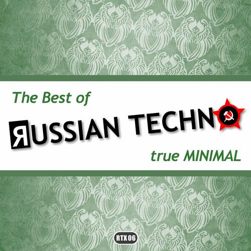 The Best Of Russian Techno - True Minimal Album Art
