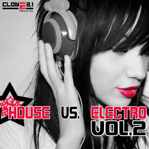 House Vs. Electro Volume 2 Album Art