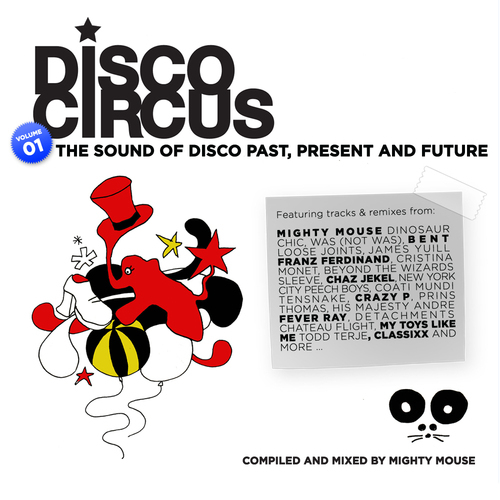 Album Art - Disco Circus - Vol. 01 Compiled and Mixed By MiGHty mOUse
