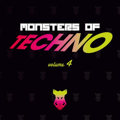 Album Art - Monsters Of Techno Volume 4