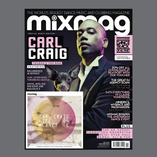 Album Art - Life On Planet E - Mixmag Presents Carl Craig