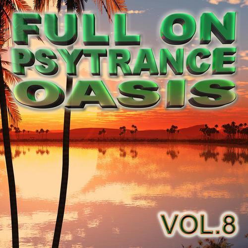 Album Art - Full On Psytrance Oasis V8