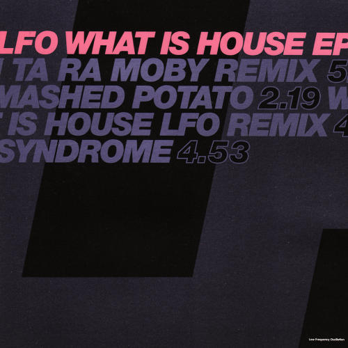 Album Art - What Is House